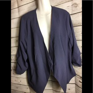 Torrid 2 Size Asymmetrical Blazer